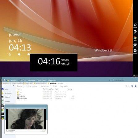 windows 8 menu