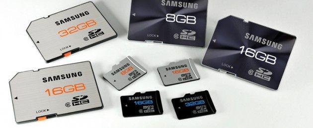 Nuevas tarjetas SDHC Clase 10 ultrarrápidas Samsung