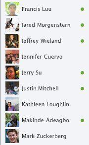 Nuevo look chat facebook
