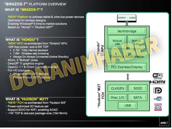 Brazos-T, más chips AMD para tablets 31