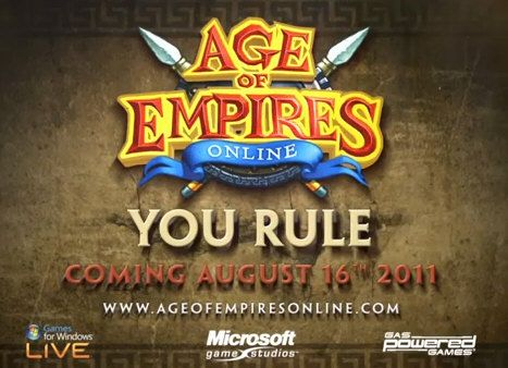 Age of Empires online, tráiler