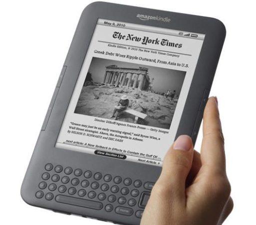 Amazon rebaja el precio del Kindle 3G a 139 dólares y conexión gratuita 30