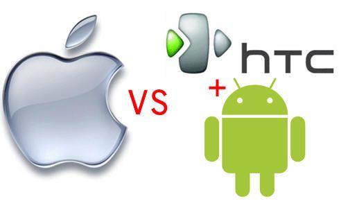 Apple extiende demanda de patentes contra HTC