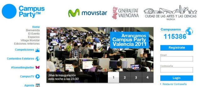 Comienza la Campus Party Valencia 2011
