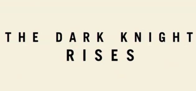 "Tráiler de ""The Dark Knight Rises"", la última película de Batman 28"