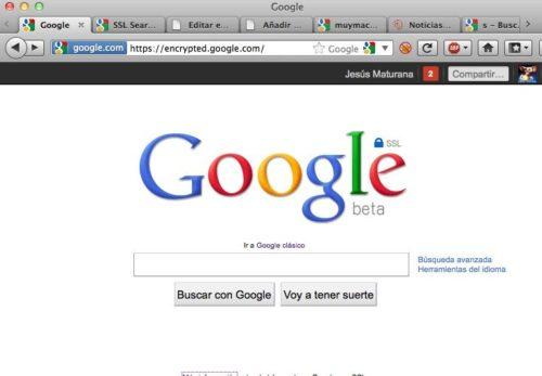 Captura de pantalla 2011 07 21 a las 11.25.50 500x347 Google y el cifrado SSL en su buscador