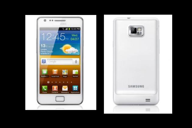 Samsung Galaxy S II llegará en color blanco en septiembre