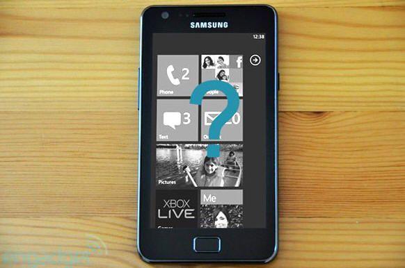 ¿Samsung Galaxy S II para Windows Phone?