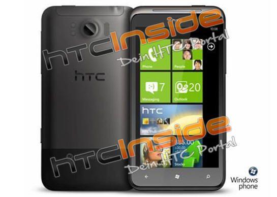 HTC Eternity, smartphone gigante con WP7 Mango