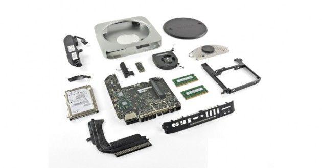 Despiece del nuevo Mac mini 2011