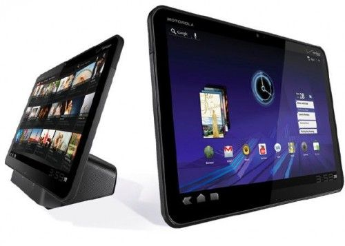 Motorola Xoom 2 con Tegra 3, Android 4 y pantalla con resolución estratosférica