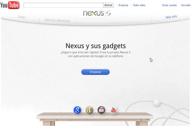 Nexus Contraptions, la publicidad que se juega