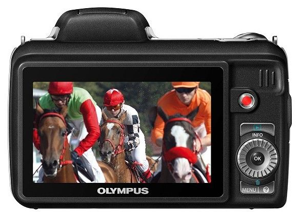 Olympus SP-810 UZ, nueva superzoom de 36X 33