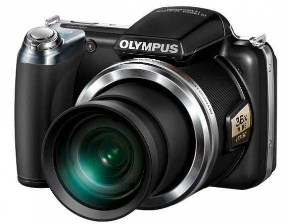 Olympus SP-810 UZ, nueva superzoom de 36X 32