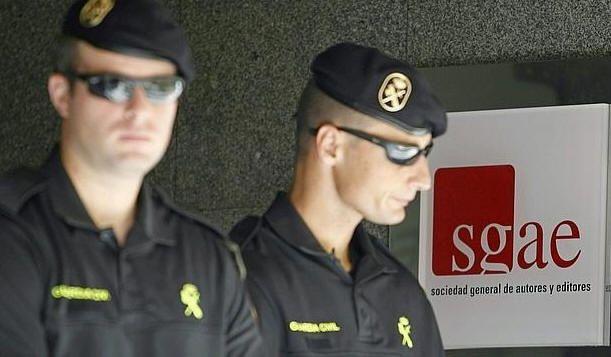 La Guardia Civil registra la sede de la SGAE, Teddy Bautista pasará a disposición judicial