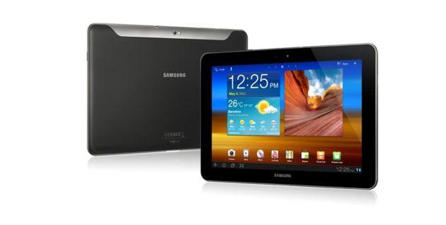 Galaxy Tab 10.1v libre en agosto desde 479 euros 30