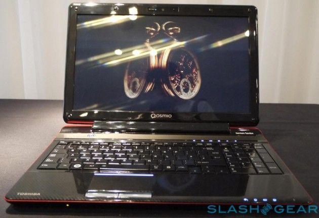 Toshiba anuncia el Qosmio F750 primer portátil 3D sin gafas 30