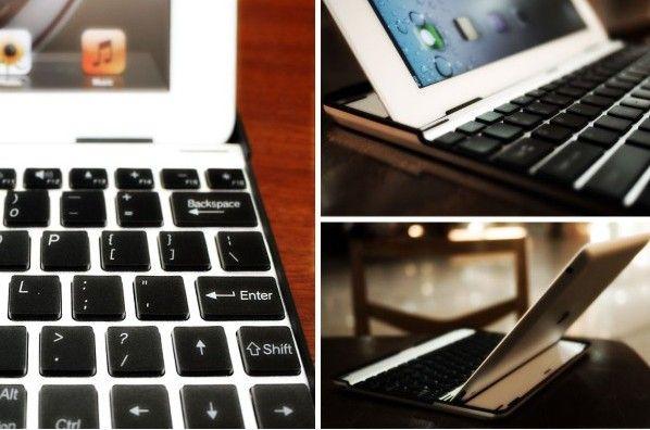 Accesorio que convierte iPad 2 en un MacBook Air de traer y llevar