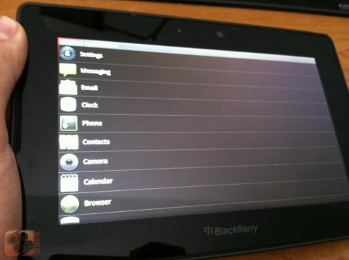 RIM Playbook ya puede ejecutar aplicaciones Android: Android App Player filtrado