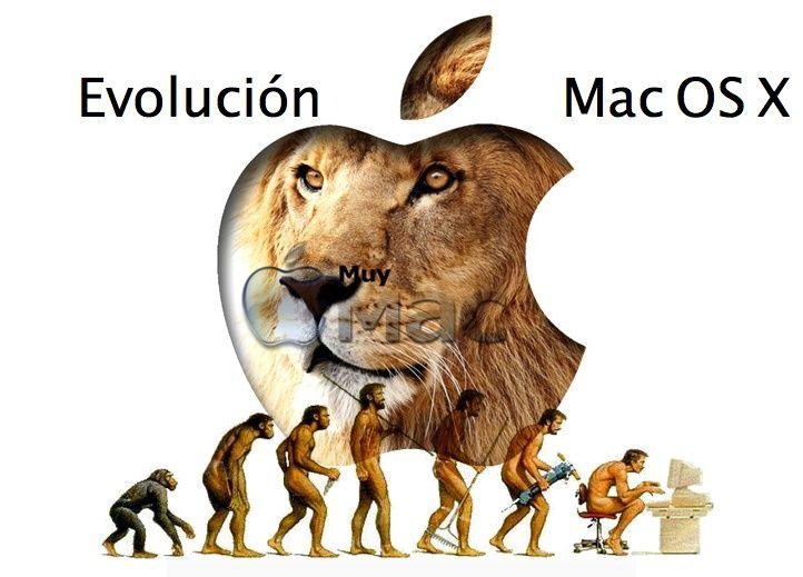 Evolución Mac OS X