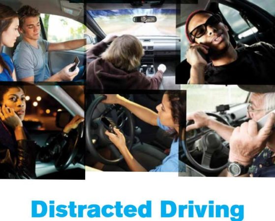 Gadgets causan el 25% de los accidentes de tráfico en Estados Unidos