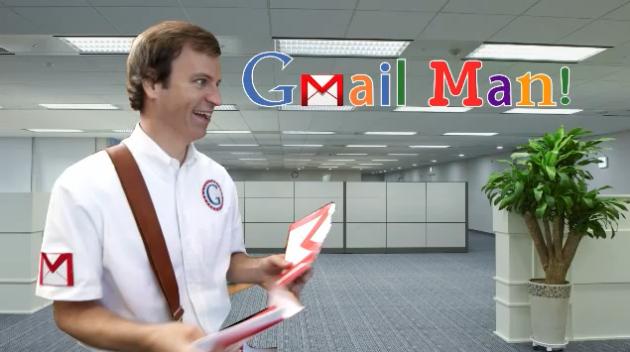Microsoft arremete contra Google con un gracioso vídeo: Gmail Man 28
