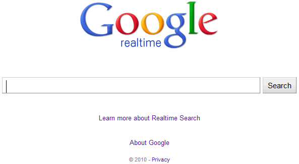 ¿Adiós a Google Realtime Search?