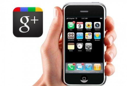 Google+ llega a iPhone finalmente en formato App nativa