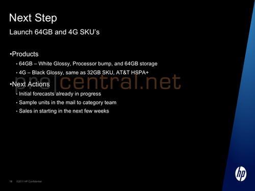 HP prepara un mejorado HP TouchPad blanco y con 64 Gbytes 26