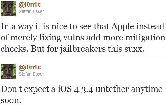 Jailbreak untethered para iOS 4.3.4 no llegará pronto -en caso de que llegue- 31