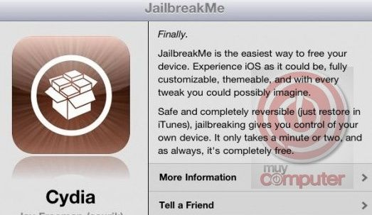 Guía oficial Jailbreak iPad 2, iPad, iPhone y iPod touch con JailbreakMe 3.0