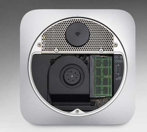 mac mini nuevo interior Analizamos el nuevo Mac Mini (mid 2011)
