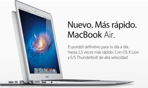 Nuevos MacBook Air 2011
