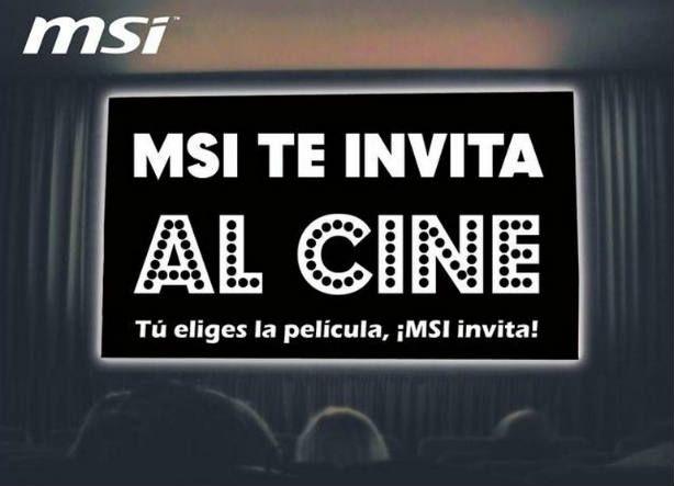 MSI te invita a una sesión de cine