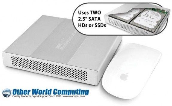 OWC expande soluciones Mercury Elite con doble HDD/SSD