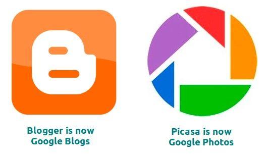 Google renombrará Picasa y Blogger para la integración con Google+