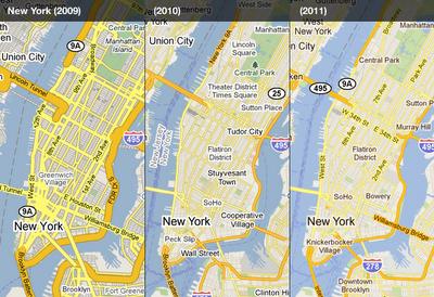 Google Maps recibe un lavado de cara, mapas más sencillos y claros 30