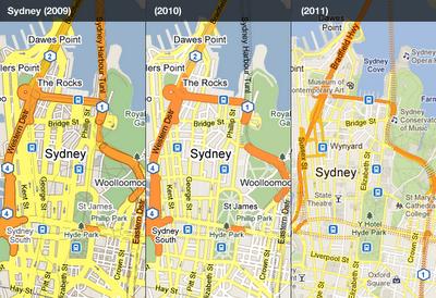 Google Maps recibe un lavado de cara, mapas más sencillos y claros 31