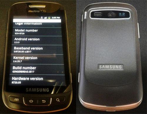 Samsung Admire, nuevo smartphone Android filtrado