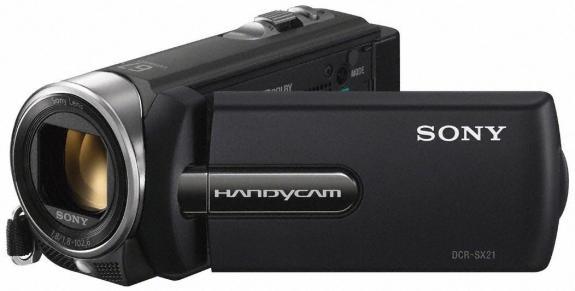 Sony presenta nuevas videocámaras Handycam SX21E y SR21E