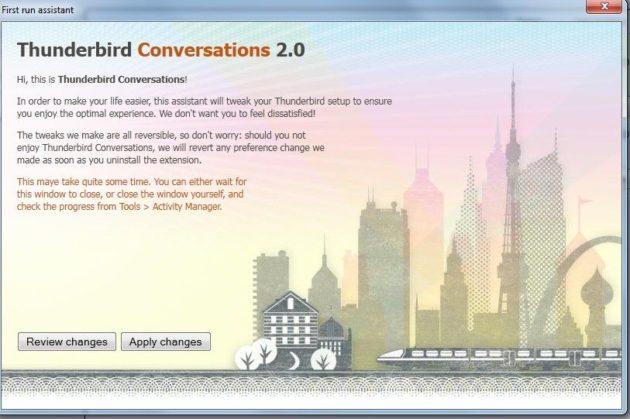 Thunderbird Conversations 2.0, a lo Gmail