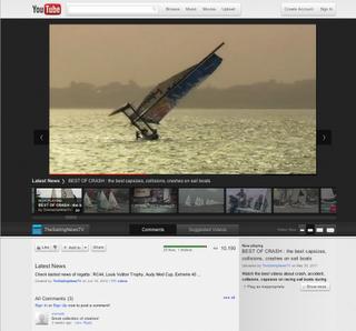 Google sigue con el cambio de look, llega a YouTube Cosmic Panda 32