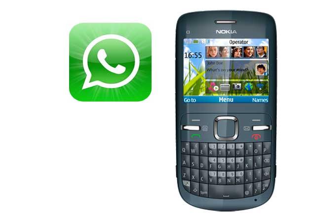 WhatsApp ya disponible para Nokia C3 y Nokia X2
