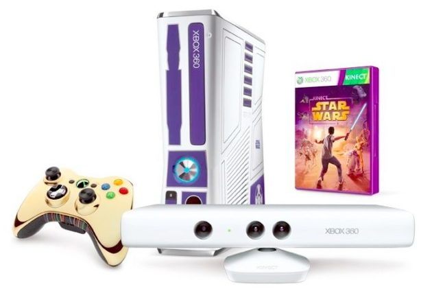 Pack Xbox 360 Kinect Ed. Limitada Star Wars