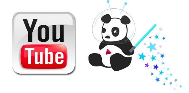 Google sigue con el cambio de look, llega a YouTube Cosmic Panda