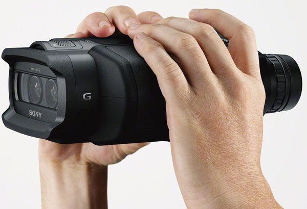 Sony presenta los prismáticos del futuro, DEV-3 y DEV-5