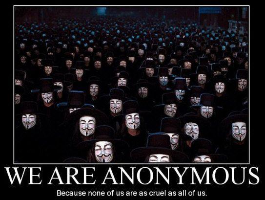 Anonymous amenaza con 'fulminar' Facebook el 5 de noviembre