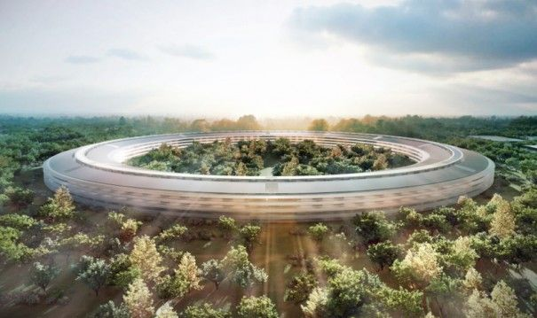 Diseños del súper campus de Apple en Cupertino