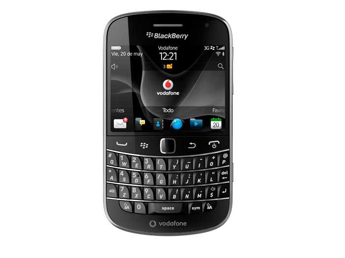 BlackBerry Bold 9900 en exclusiva con Vodafone durante tres meses