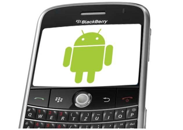 BlackBerry con aplicaciones Android, suma atractiva